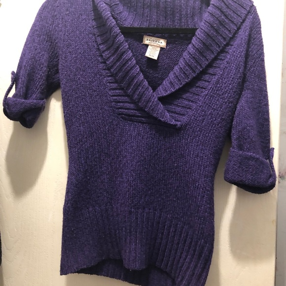 Arizona Jean Company Sweaters - Purple Sweater